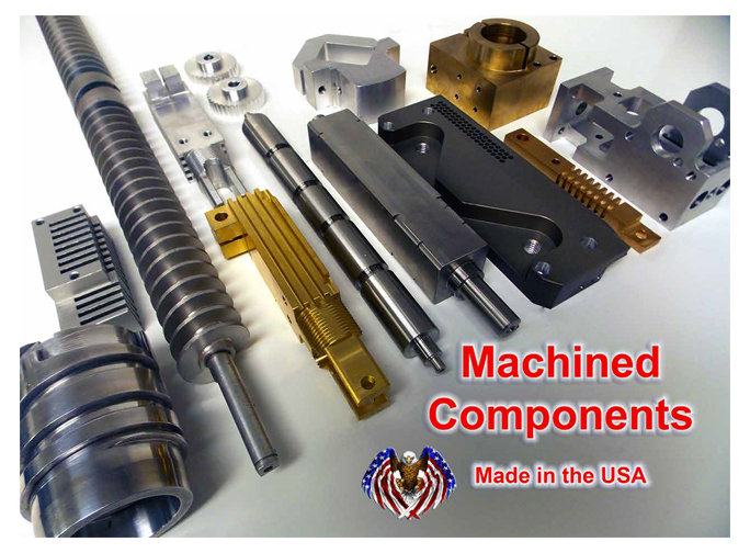 linear Motion - Custom Machined components
