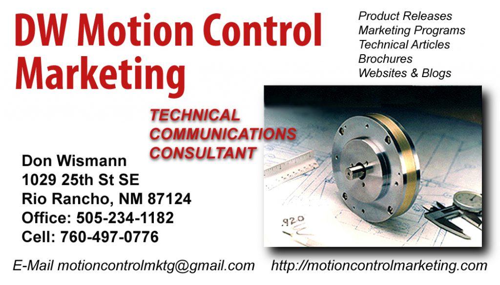 motion control marketing